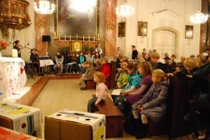 Während der Messe